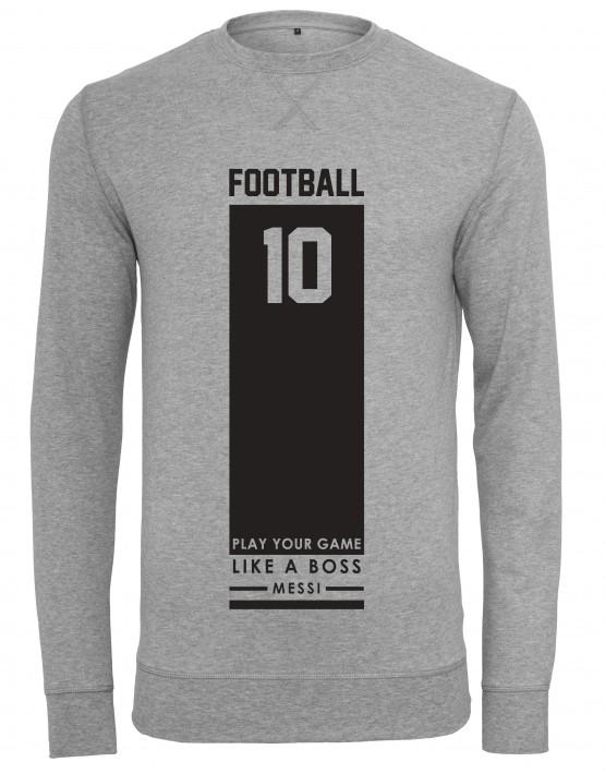 heren-sweater-zwarte-football