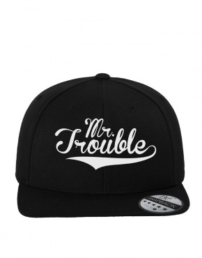 mr-trouble-borduur-zwart-cap