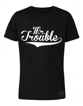 MR trouble zwart