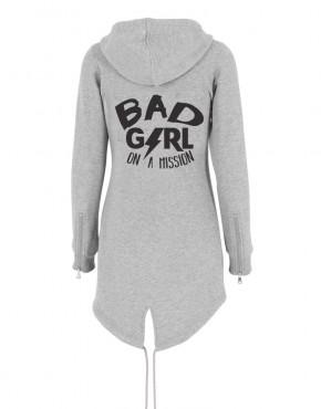 damesvest-grijs-bad-girl