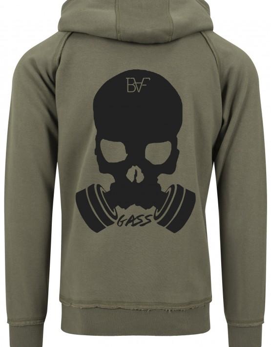 hoodie gass army green