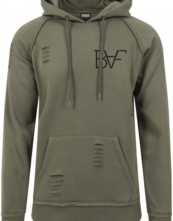 hoodie green baf