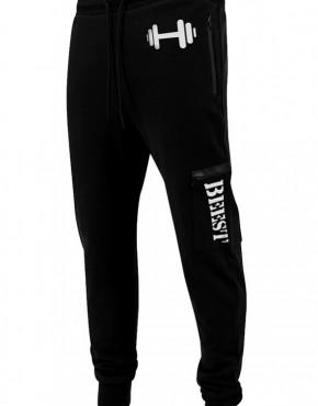 Heren Joggingpak pants Beest zwart Sport 1