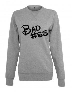 dames-sweater-badass-grijs