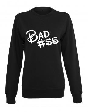 dames-sweater-badass-zwart