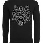 heren-sweater-zwarte-tijger