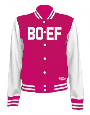 CollegeJacket_WHITEPINK_Woman_Front boef