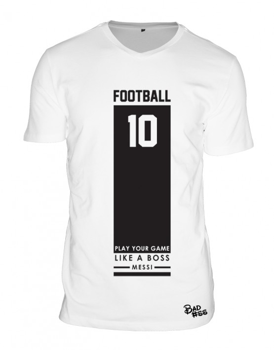 Football wit heren tshirt2