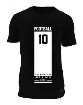 Football-zwart-heren-tshirt2