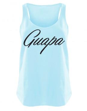 Guapa Womens singlet blue
