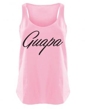 Guapa Womens singlet pink
