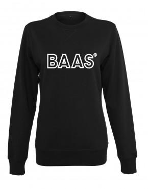 dames-sweater-baas-lijn-zwart