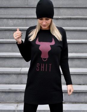 bull-shit-sweater-dress