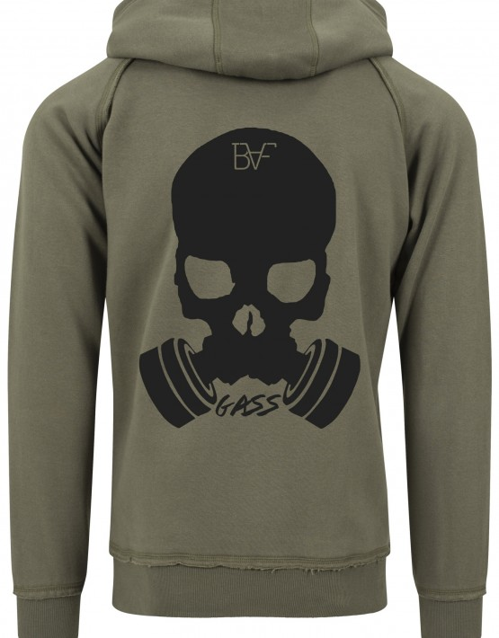hoodie gass army green